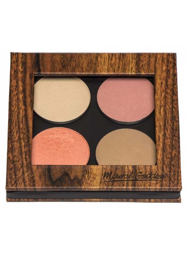 Kylie's Professional Mineral Goddess Pressed Foundation Kylie's Professional Mineral Goddess Pressed Cheeky Palette