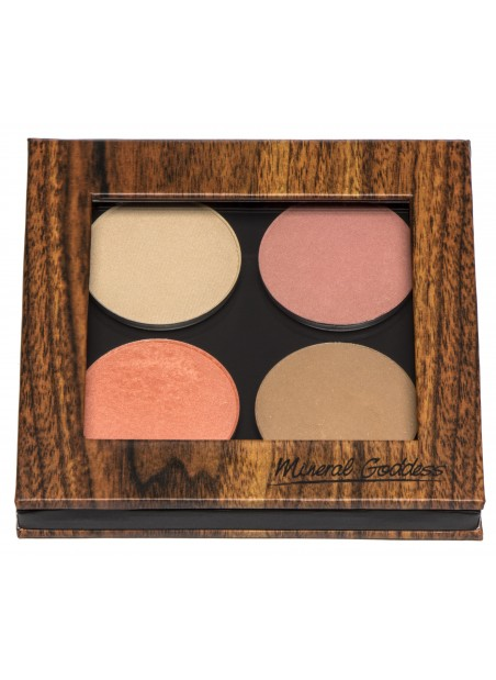 Kylie's Professional Mineral Pressed Cheeky Palette