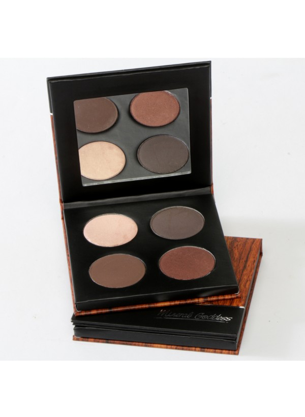 Kylie's Professional Mineral Goddess Pressed Eyeshadow Café Palette