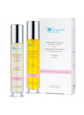 The Organic Pharmacy Revitalise & Glow Antioxidant Duo