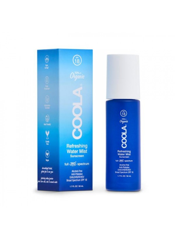 COOLA Full Spectrum 360° Organic Refreshing Water Mist SPF 18