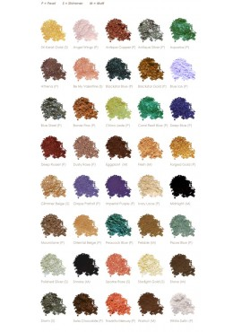 Vani-T Mineral Colour Crystals Lidschatten